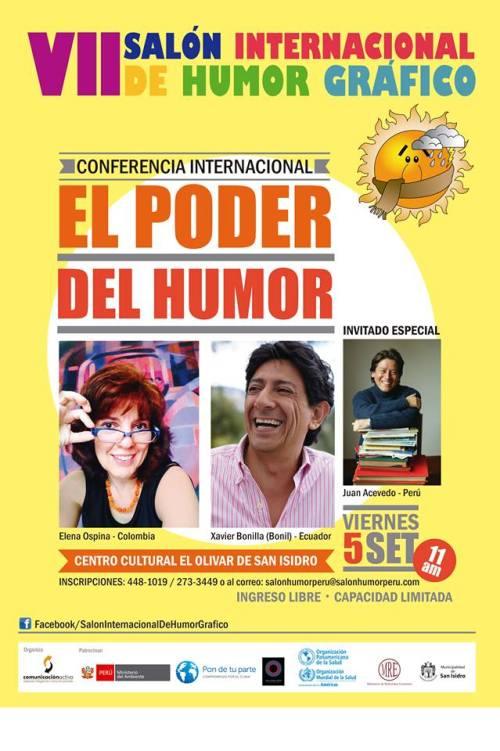 VII Salon Internacional del Humor Gráfico cartel 2014